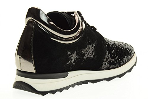 Black Noir Gio S109 Baskets Cellini Femmes Basses 8TO7fY