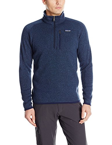 Patagonia Men's Better Sweater 1/4 Zip, Classic Navy SM