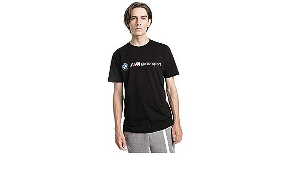 BMW Motorsport Logo tee, XL Camiseta, Negro (Black Black), X-Large para Hombre