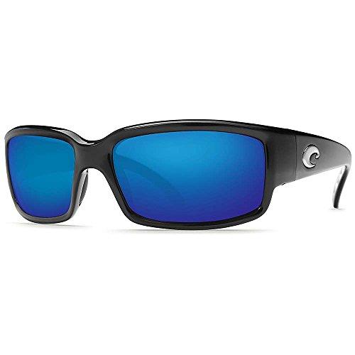 Costa Del Mar Caballito Polarized Sunglasses Black / Blue Mirror Glass One ()