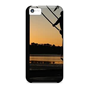 Mycase88 Perfect Cases For Iphone 5c/ Anti-scratch Protector Cases (sunset Swing)