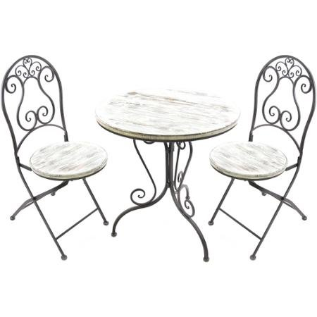 Jordan Distresssed Outdoor Patio Furniture Sets Wrought I...