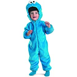 Cookie Monster Deluxe Two-Sided Plush Jumpsuit Costume (12-18 months)