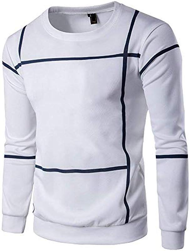 I jesień casual męska bluza wiosna jesień elegancki długi rękaw wygodny rozmiar okrągły dekolt gÓrne części topy Slim Fit sweter czarny/szary ubrania: Odzież