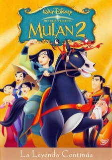 MULAN 2 (SPANISH AND ENGLISH DUBBED) [NTSC/REGION 1 & 4 DVD. Import-Latin America]