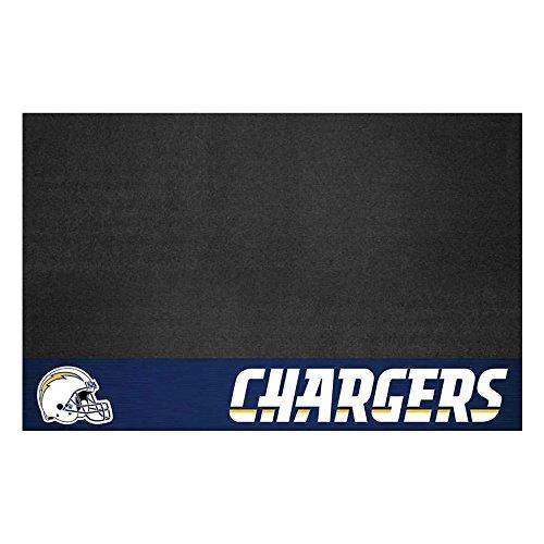 San Diego Baseball Mat (Fanmats 12199 NFL San Diego Chargers Vinyl Grill Mat)