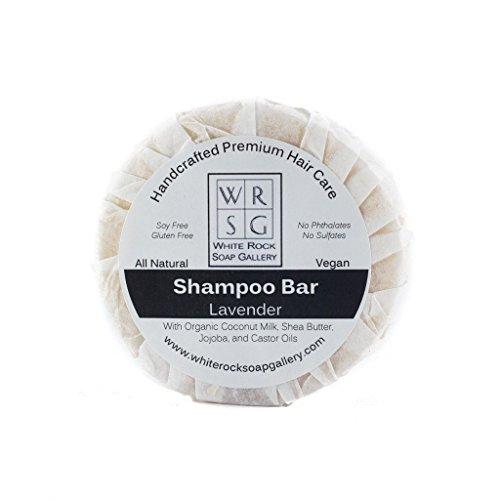 Gallery Bar - Coconut Milk Shampoo Bar by White Rock Soap Gallery