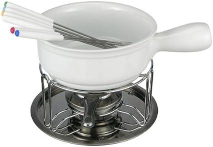 MQ-Power - Set de fondue de queso (porcelana, incluye ...