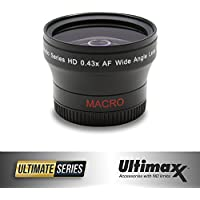 ULTIMAXX 0.43x Professional Wide Angle Lens With Macro (58mm)