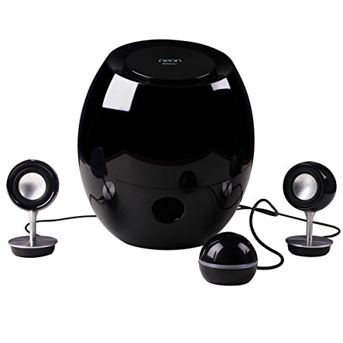 Neon electronic174;Bluetooth Speaker BTS662-37 with Outstanding Design, one Subwoofer and two Tweeter Speaker