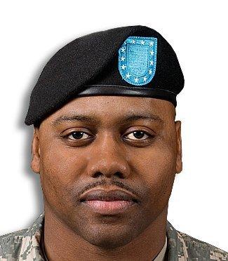 Marlow White US Army Black Beret