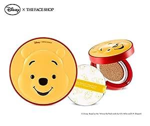 The Face Shop Disney CC Cooling Cushion (OEM) Pooh 2016 New (V203 Natural Beige)