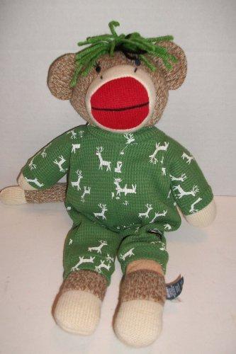 - Old Navy / Sock Monkey Sock Monkey Green PJ Raindeer 15