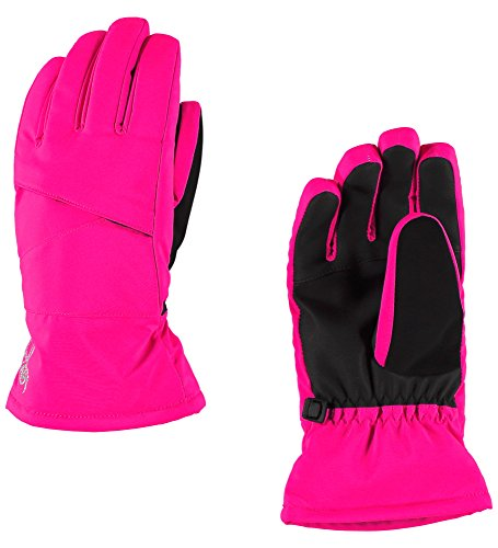 Spyder Girls Astrid-Ski Gloves, Bryte Bubblegum, Large