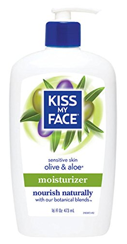 Kiss My Face Natural Olive & Aloe Moisturizer - 16 oz