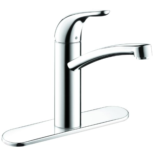 Hansgrohe 04273000 Focus E Kitchen Faucet with Base plate, Chrome