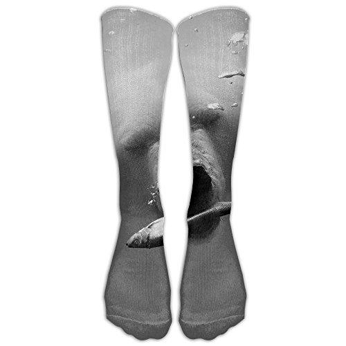 Polar Bear Compression Socks Soccer Socks Knee High Socks For Running,Medical,Athletic,Edema,Diabetic,Varicose Veins,Travel,Pregnancy,Shin (Pooh Bear Halloween Wallpaper)