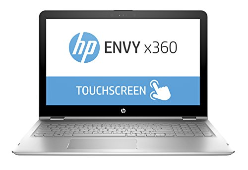 "HP ENVY Convertible 15.6"" Touchscreen 1920x1080 laptop , 8th Gen Intel Core i7-8550U quad-core 1.8 GHz, 12GB RAM, 1TB HDD, 802.11ac, Bluetooth, USB-C, HDMI, HD Webcam, Windows 10"