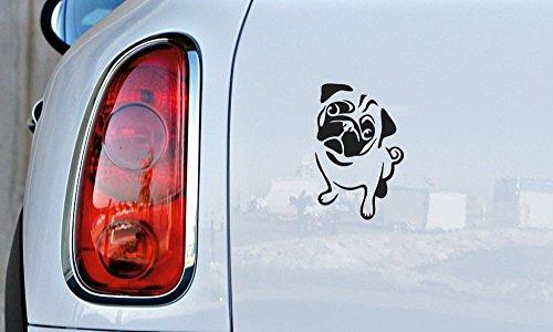 pug window decal - 6