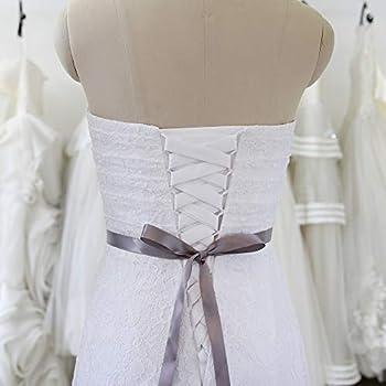 Classic Satin Silky Sash Belt Corset Self Tie Bowknot Prom Wedding Dress Ribbon