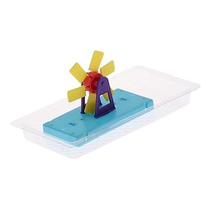Exploring Kid toy gift water mill Waterwheel model scientific experiment game