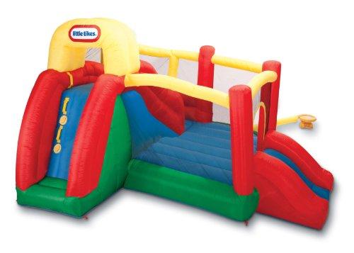 Little Tikes Double Fun Slide 'n Bounce - N Jump Tikes Bouncer Little Slide