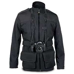 Manfrotto Lino Colección Hombres chaqueta Pro Campo XXL Negro