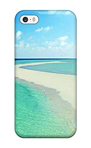 Carlawn Iphone 5/5s Hybrid Tpu Case Cover Silicon Bumper Maldives Holidays
