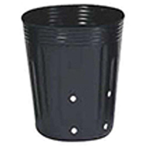 【5000個】 13.5cm 黒 TO深鉢側面24穴付(UCタイプ) ポリポット 東海化成 タ種 代不 B06Y5KSN5M