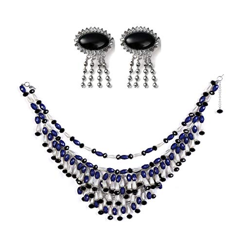 Utopiat Breakfast at Tiffany's Holly Fringe Costume Jewelry