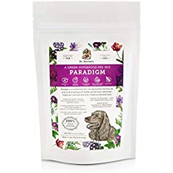 Dr. Harvey's Paradigm Green Superfood Dog Food, Human Grade Dehydrated Grain Free Base Mix for Dogs, Diabetic Low Carb Ketogenic Diet (Trial Size 5.5 oz)