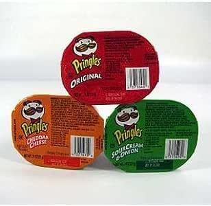 Pringles Chips- 3 de patata sabor funda Pack 72 Pringles Chips- 3 ...