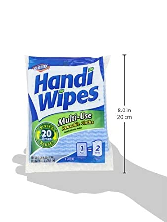 Amazon.com: Clorox Handi Wipes Multi-Use Reusable Cloths, 6 Count (Pack of 5): Health & Personal Care
