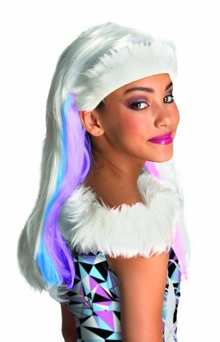 [Monster High Abbey Bominable Child's Wig] (High Quality Costumes For Sale)