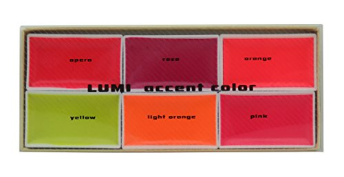 KISSHO GANSAI Japanese Watercolor Paint LUMI Accent 6 Colors Set