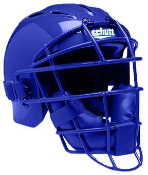 Schutt Sports AiR-Pro Catcher's Helmet, Small, Royal Blue