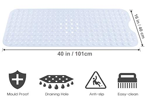 Gorilla Grip Original Patented Bath Shower Tub Mat