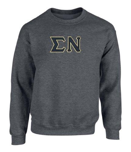 Greek Embroidered Sweatshirts - 6