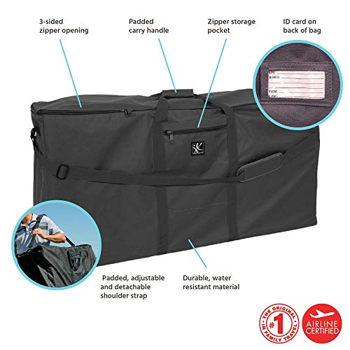 Heavy Duty Twin Stroller Luggage Bag To fit Joie Aire Twin Stroller