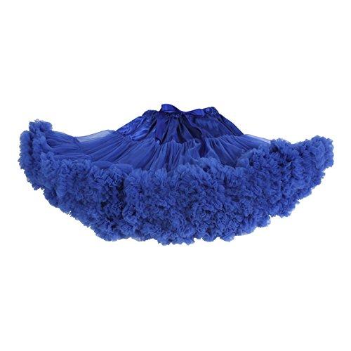 Tortoise & Rabbit femmes adulte dance ballet Costume Partie Jupon duveteux Jupe tutu Pettiskirt Skirt Bleu