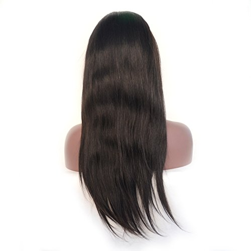 Amazon.com : Luwigs 13x6 Lace Front Wigs Brazilian Straight Human Virgin Hair for Black Women Long Parting Lace Front Wig with Pre Plucked Natural Hairline ...