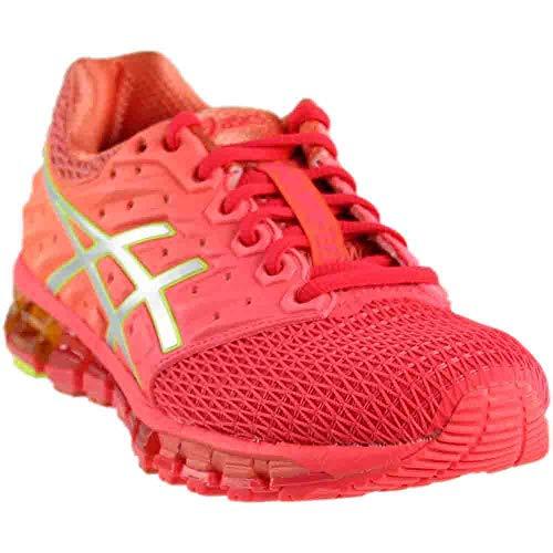 ASICS Women's Gel-Quantum 180 2 Running Shoe, Diva Pink/Silver/Coral Pink, 8.5 M US
