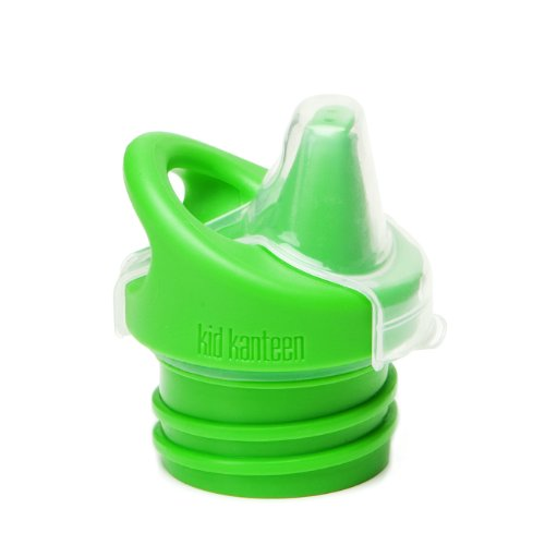 Klean Kanteen Kid Kanteen Sippy Cap for Classic Water Bottles, Leak Resistant Water Bottle Cap