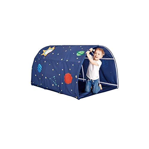 (Jadore Tunnel Tent for Twin Beds Space Galaxy)