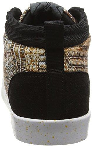 Desigual Shoes_Classic Mid G, Zapatillas Deportivas para Interior para Mujer Dorado (DORADO8010)