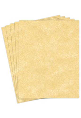 Stationery Parchment Recycled Paper | 65Lb Cover Cardstock | 8.5