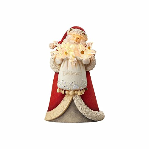 Heart of Christmas Hrtch Santa-Believe - Santa Christmas Figurine