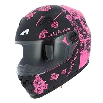 Amazonfr Astone Helmets Casque Moto Fille Gt2 Kid Casque De