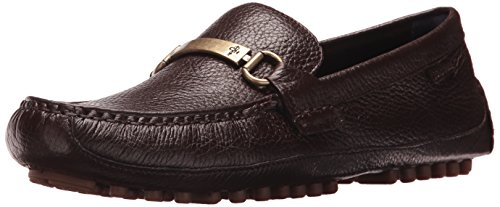 Cole Haan Men's Provincetown BIT Driver II Loafer, Brown Pebbled, 11 Medium US (Brown Pebbled)