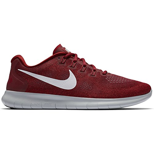 Black Free wolf 2 Red Punch hot Rot Sneakers Rn Nike Hombre team grau Red Grey tough qt7wEdxnU